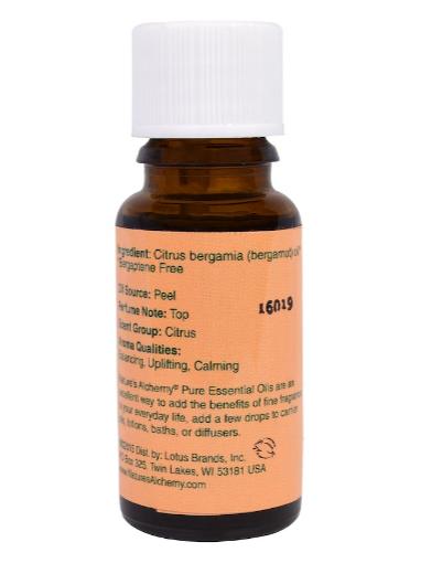 Nature's Alchemy Essential Oil, Bergamot 0.5oz