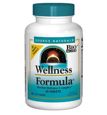 Source Naturals Wellness Formula 45 tablets