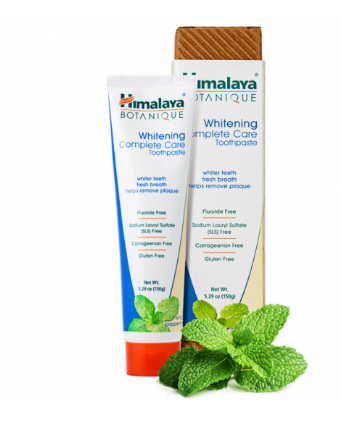 Himalaya Whitening Complete Care Toothpaste, Simply Peppermint 5.29oz
