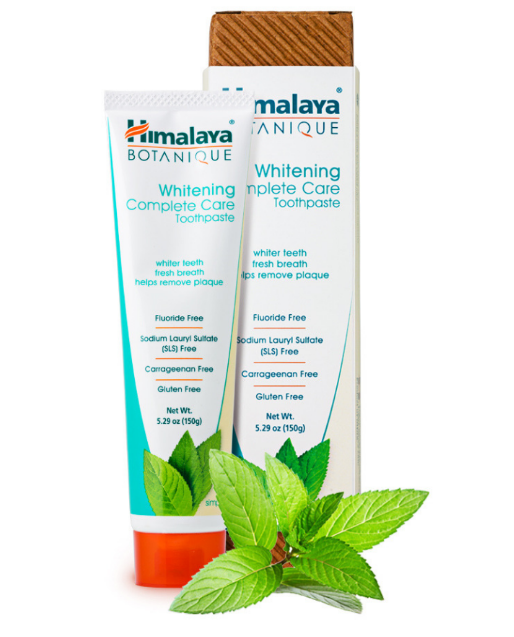 Himalaya Whitening Complete Care Toothpaste, Simply Mint 5.29oz