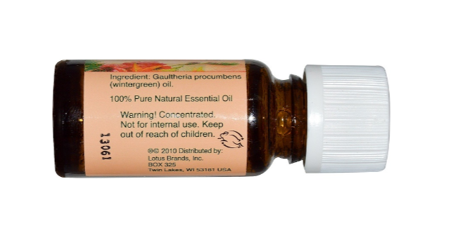 Nature's Alchemy Essential Oil Wintergreen 0.5oz