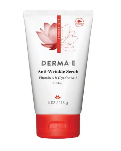 Dermae Anti-Wrinkle Vitamin A Glycolic Scrub 4oz
