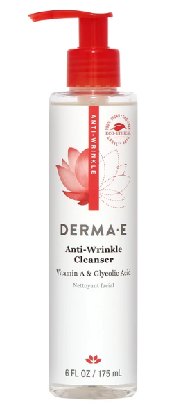 Dermae Anti-Wrinkle Vitamin A & Glycolic Acid Cleanser 6oz