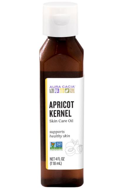 Aura Cacia Natural Skin Care Oil Apricot Kernel 4oz.