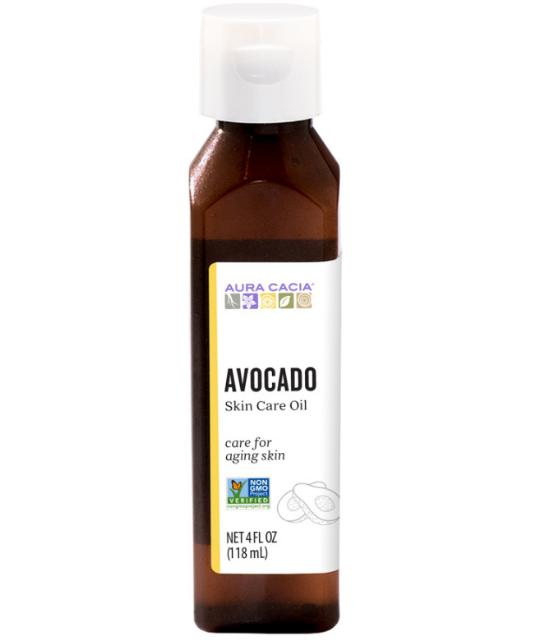 Aura Cacia Natural Skin Care Oil Avocado 4oz