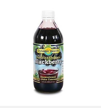 Dynamic Health Blackberry Concentrate 16oz