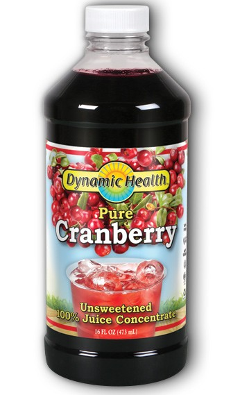 Dynamic Health Pure Cranberry Concentrate 16oz