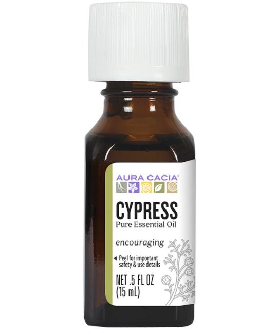 Aura Cacia Essential Oil, Cypress 0.5oz