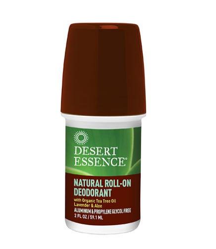Desert Essence Natural Roll-On Deodorant 2oz