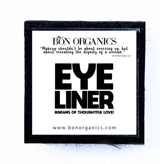 Bon Organics Eye Liner Midnight Black