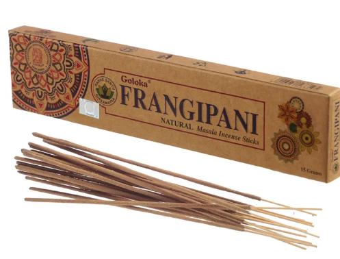 Goloka Frangipani Natural Incense