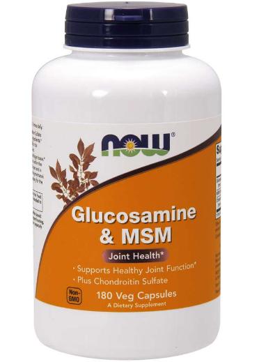 Now Glucosamine & MSM 60 Capsules