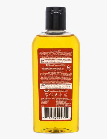 Desert Essence 100% Pure Jojaba Oil 4 oz