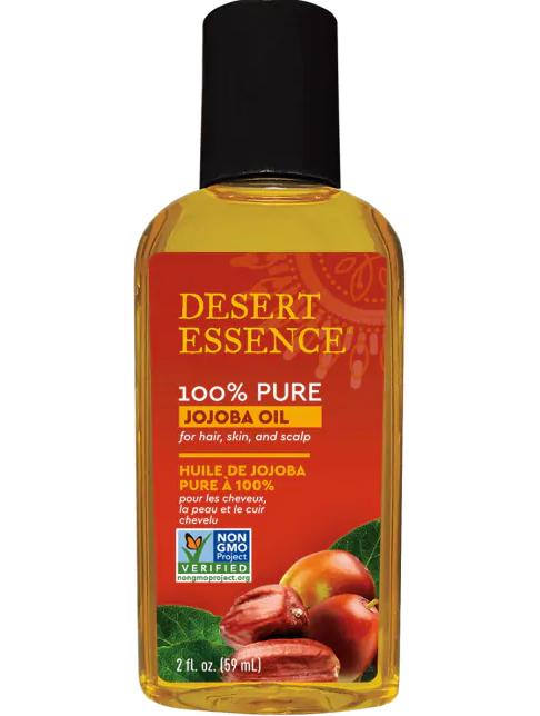 Desert Essence 100% Pure Jojoba Oil 2 oz
