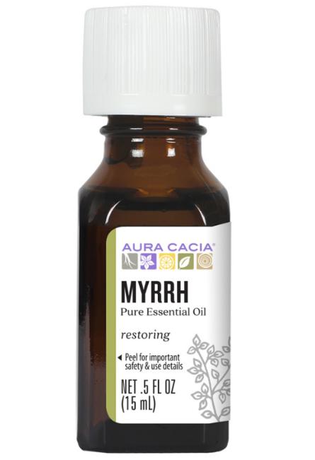 Aura Cacia Essential Oil, Myrrh 0.5oz