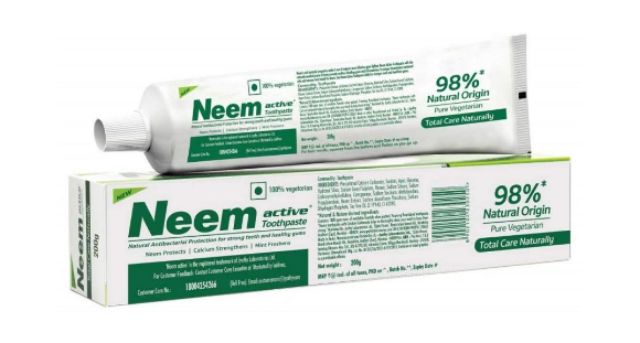Neem Active Toothpaste with Toothbrush