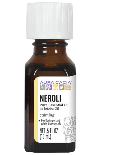 Aura Cacia Essential Oil, Neroli in Jojoba 0.5oz