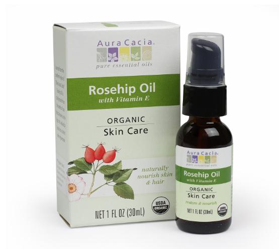 Aura Cacia Organic Skin Care Oil, Rosehip 1oz