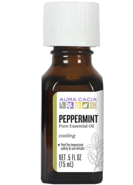 Aura Cacia Essential Oil, Peppermint 0.5oz