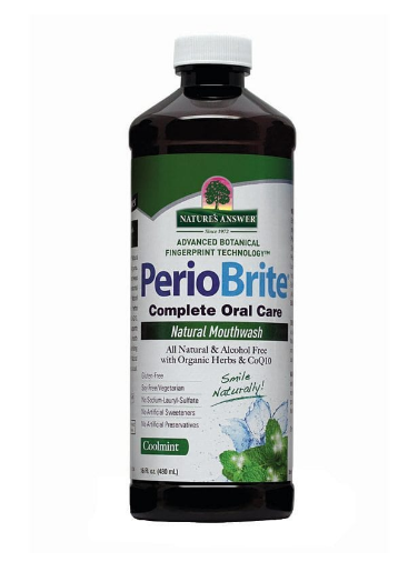 Nature's Answer Periobrite Mouthwash Coolmint 16oz