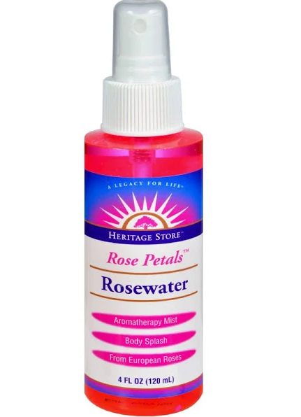 Heritage Flower Water, Rose 4 oz