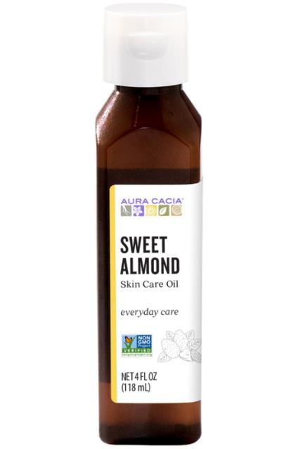 Aura Cacia Skin Care Oil, Sweet Almond 4oz