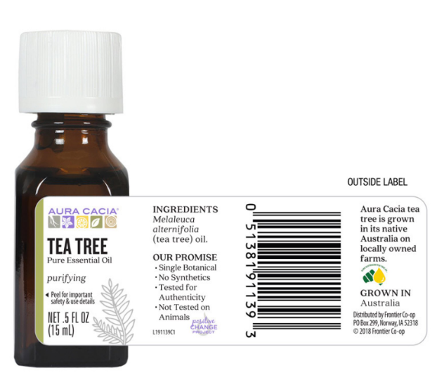 Aura Cacia Essential Oil, Tea Tree 0.5oz
