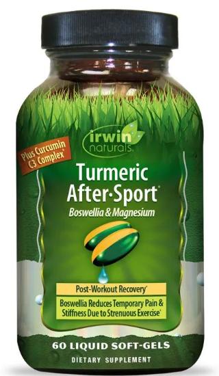 Irwin Turmeric After Sport