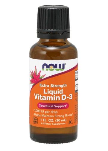 Now Liquid Vitamin D-3    1 fl. oz.