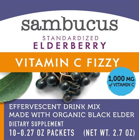 Nature's Way Sambucus Fizzy Elderberry