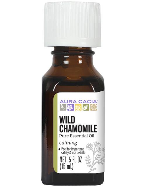 Aura Cacia Essential Oil, Wild Chamomile 0.5oz